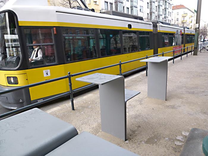 betonWare Stehtisch URB_St, Berlin