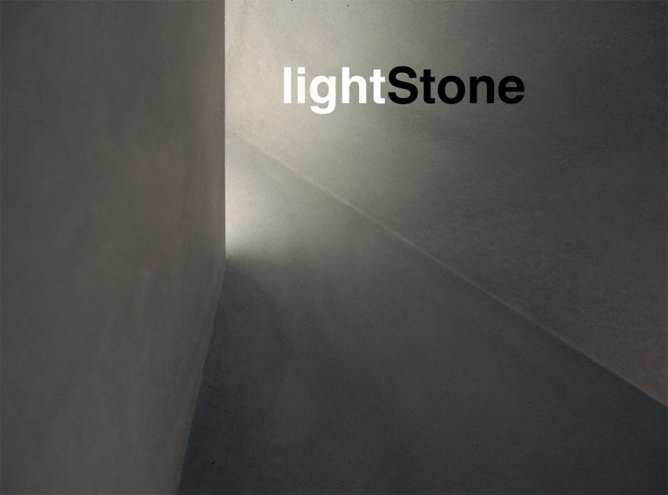 lightStone: betonWare concrete & LED - beton und Licht