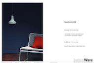 Pendelleuchte aus Beton: Produktbeschreibung PDF