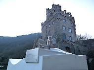 Burgfried der Burg Sooneck - und Bürgchen Sooneck