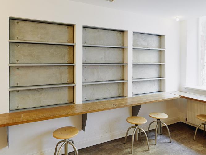 betonware, Artisan Hamburg, Innenausbau, Wandpanele
