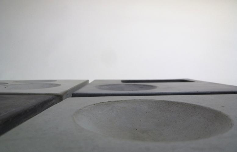 beton, betonware, schreibtisch, sortierhilfe, ablage, platzhalter