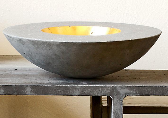 betonSchale_gold/silber | betonWare.de