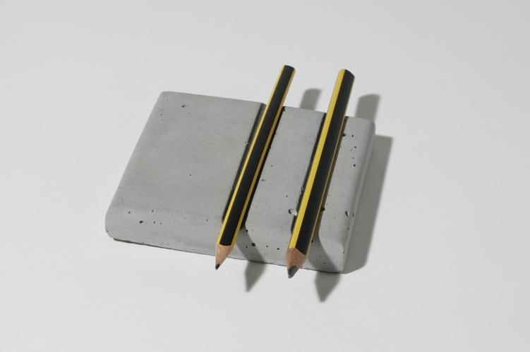 betonware, stiftPlatte, Accessoir, Tisch, Schreibtisch, beton, Platzhalter