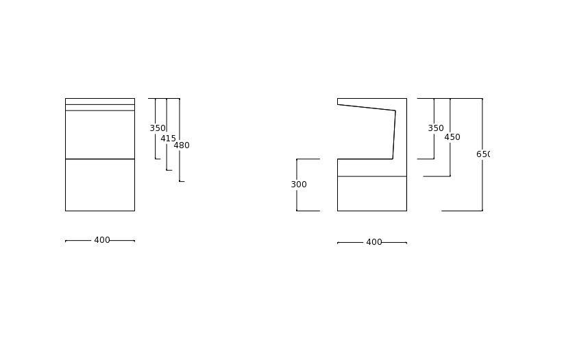 betonware, Betontisch, tisch_C, Fertigteil
